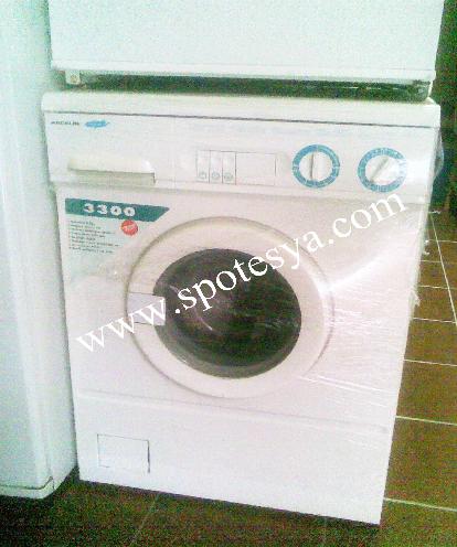 Arçelik 3300 çamaşır makinesi sağlam