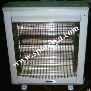 Yenisinden farksız termostatlı elektrik sobası