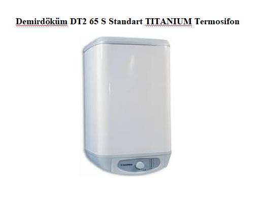 Demirdöküm DT2 65 S Standart TITANIUM Termosifon