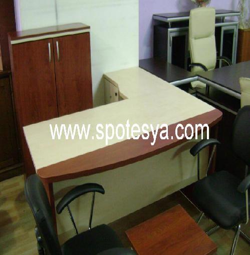 Köşe ofis masası spot 2.el ürün