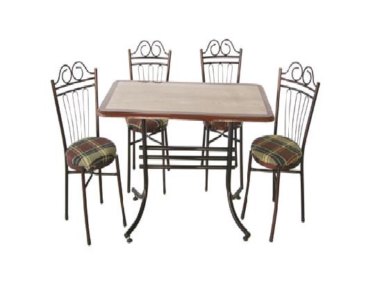 Verzalit masa sandalye takımı 4 kişilik - 11