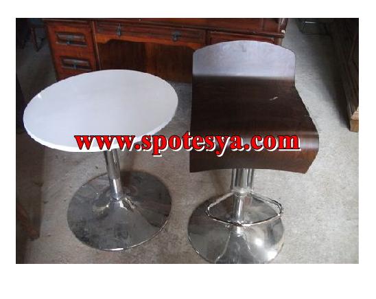Spot bar sandalyesi, ikinci el bar masası