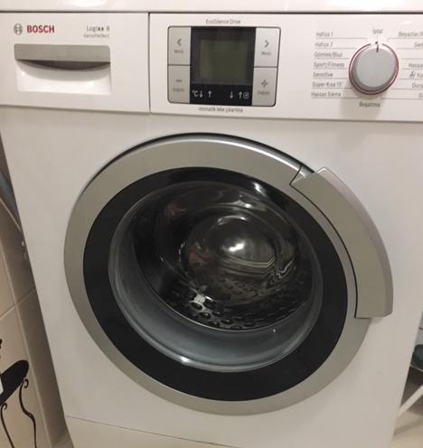 Bosch 8 kilo çamaşır makinesi logixx