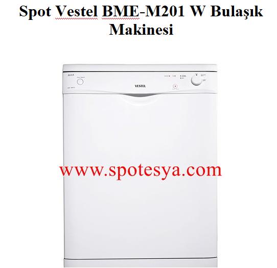 Spot Vestel BME-M201 W Bulaşık Makinesi