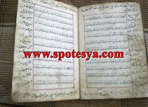 Antika el yazması kitap