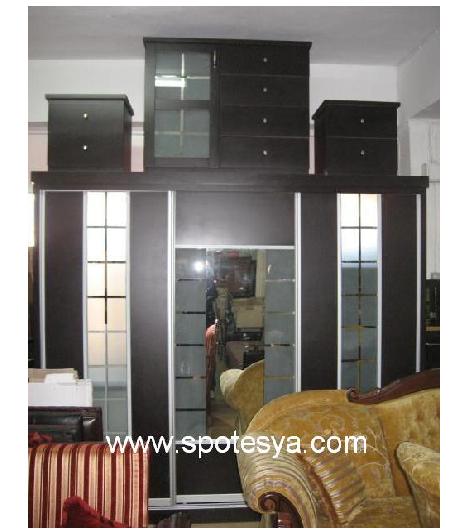 Aynalı yatak odası dolabı 505-BC