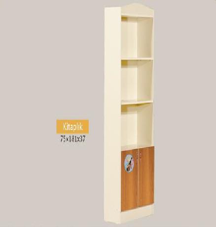 Raflı çekmeceli kitaplık ölçüler:75 x 181 x 37