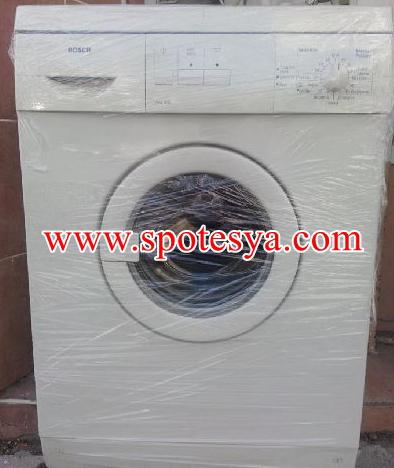Bosch marka çamaşır makinesi servisten yeni çıktı