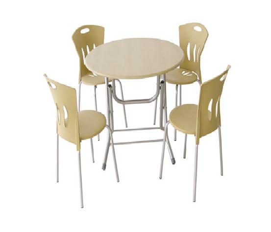 Cafe için uygun masa sandalye 01