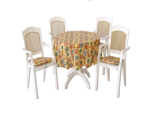 4 kişilik yuvarlak masa sandalye takımı - 23