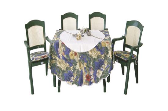 Plastik masa sandalye cafe için yeşil renk