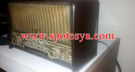 Klasik philips radyo 65 senelik