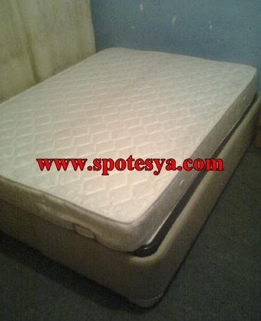 Çift kişilik baza ve yatak