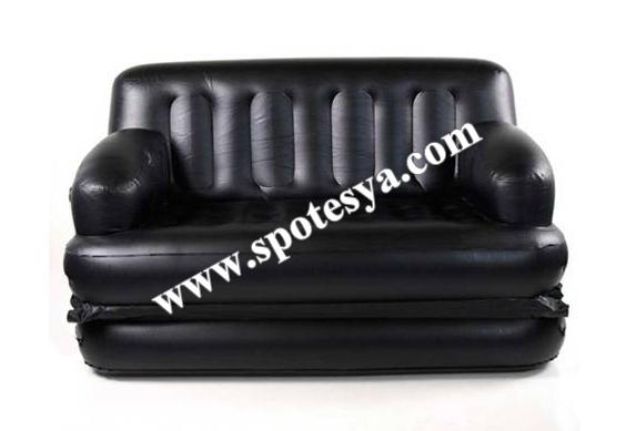 Kullanılmış şişme yatak-kanepe