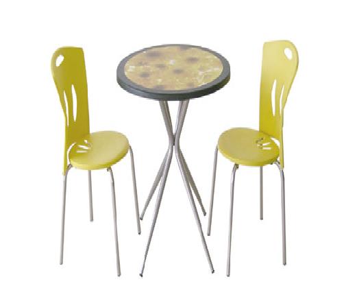 Üçlü masa sandalye grubu 03