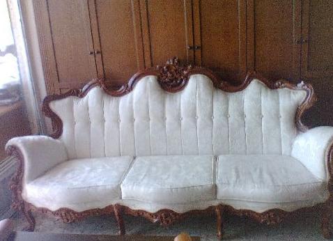 Atatürk tarzı oymalı koltuk takımı