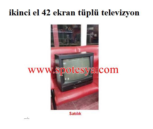 Sharp 42 ekran tüplü televizyon