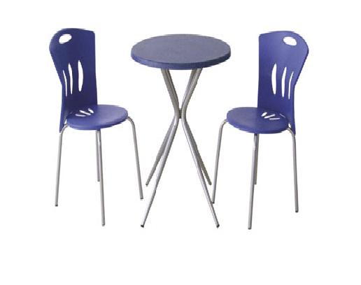 Cafe için iki kişilik mini masa sandalye