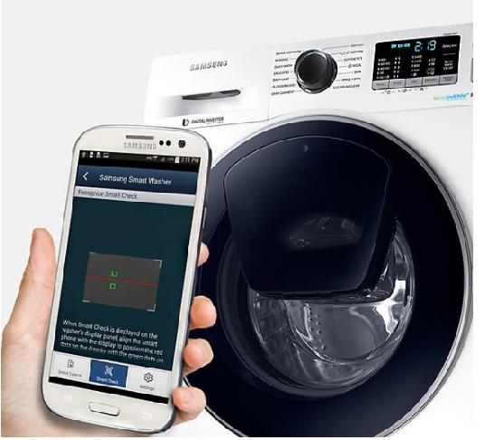 Spot Samsung WW80K5410UW Çamaşır Makinesi