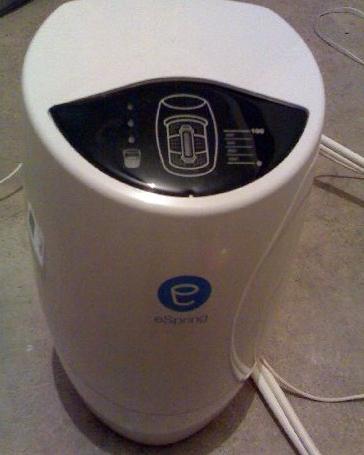 Esipring su arıtma cihazı ihtiyaç fazlası