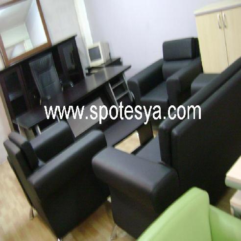 Spot büro mobilyası deri koltuklar 156-AB