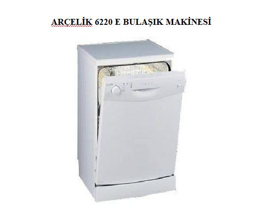 ARÇELİK 6220 E BULAŞIK MAKİNESİ
