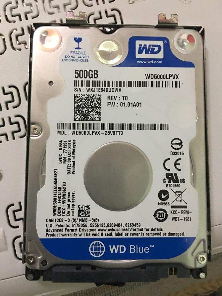 İkinci el wd5000lpvx hard disk laptoplar için