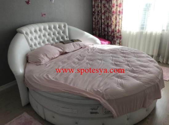 İkinci el yuvarlak yatak