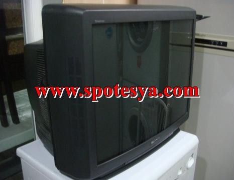 Sony 72 ekran tüplü televizyon