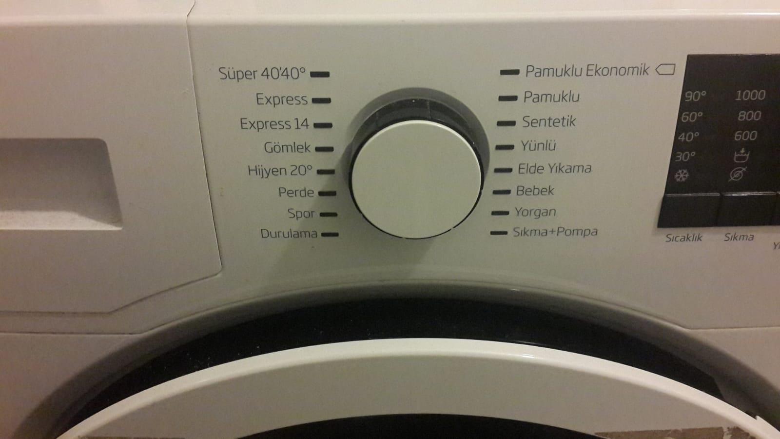 Garantisiz ikinci el 8 kilo beko çamaşır makinesi