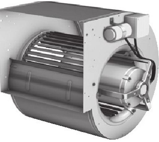 İkinci el nicotra dd 185/176 salyangoz fan 230 Volt – 50 Hz beslemeli