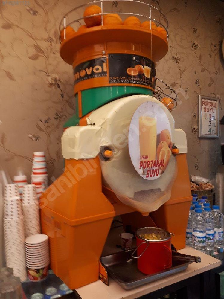 Sanayi tipi büyük portakal sıkma makinesi