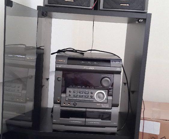 Arçelik müzik seti kaset ve cd çalar