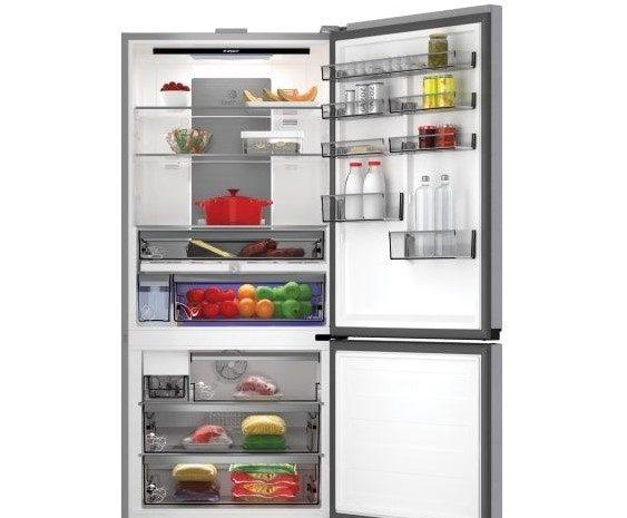 arçelik 283720 el 720 litre buzdolabı (alttan donduruculu-ters kapak)
