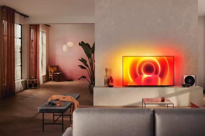 """spot philips 55PUS7805 55"""" 139 ekran 4K ultra HD televizyon"""