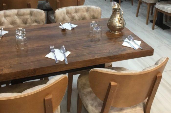 ikinci el cafe lokanta masa sandalyeleri 5 takım hepsi sağlam