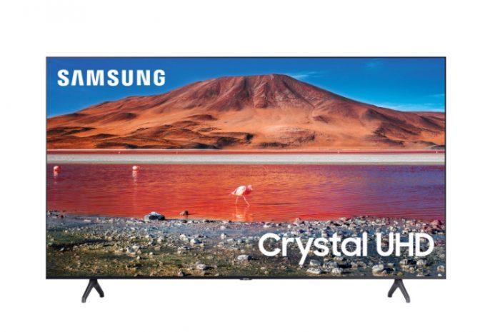 Spot Samsung 55TU7000 Crystal 4K Ultra HD 55 140 Ekran Televizyon