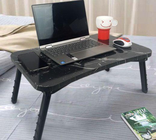 Spot katlanır laptop masası çalışma masası yatak için uygun
