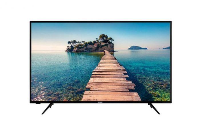 Kullanılmış ama hatasız vestel 127 ekran uydu alıcılı 4K smart LED televizyon
