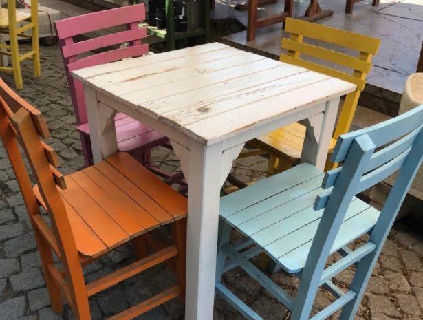 ikinci el cafe masa sandalye